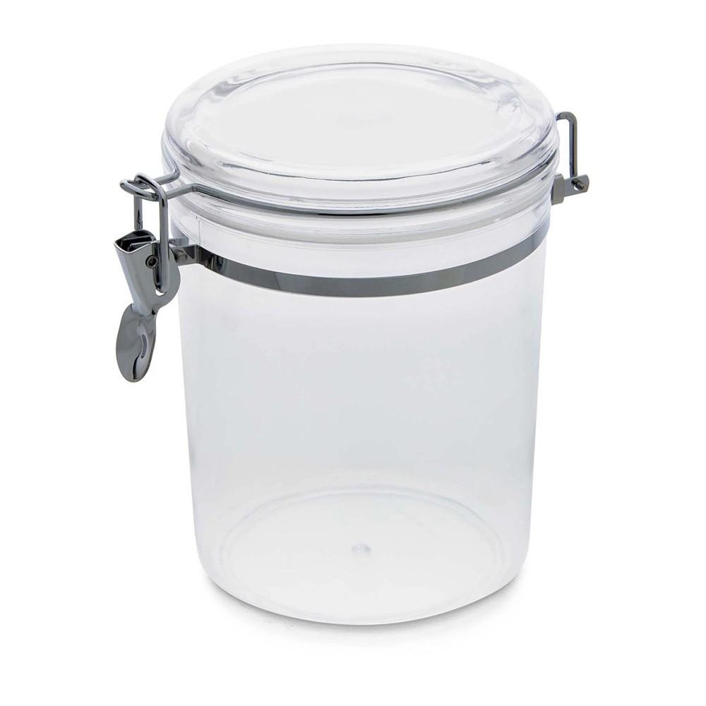 Pote 1,5L de Plástico com Tampa Hermética Incolor