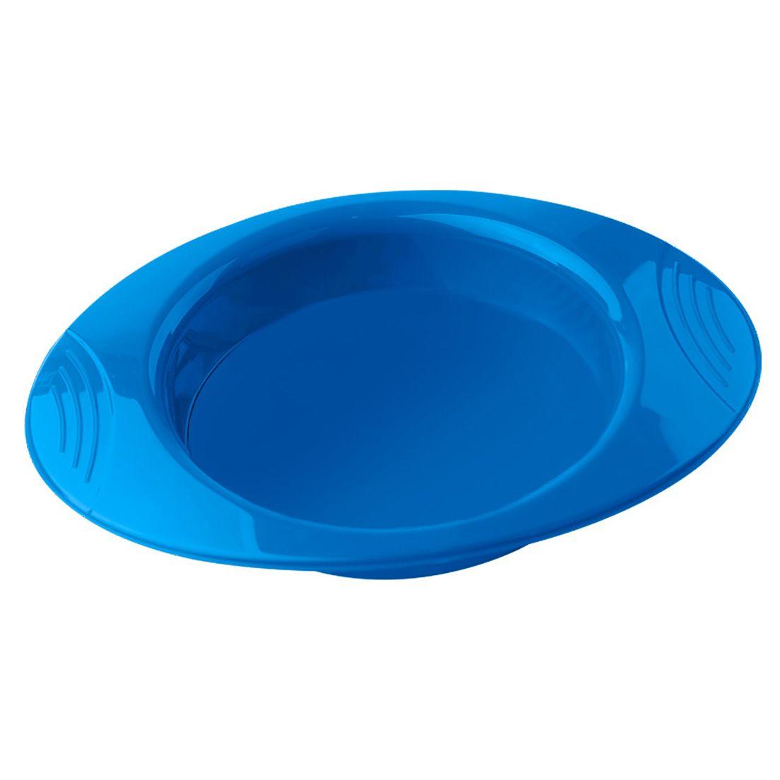 Prato Infantil de Termoplástico Azul 550Ml