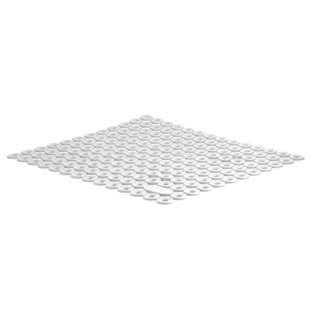 Tapete para Pia para Louças de Pvc Flexível Trium Branco