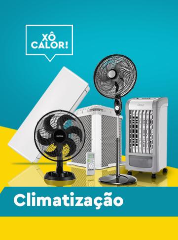 xô calor!!! confira a nossa linha de produtos para climatização!