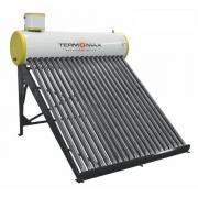 AQUECEDOR  SOLAR VERT. 20 TUBOS C/BOILER 200L B.P C/REST.