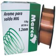 ARAME P/SOLDA MIG MERC 1,2MM ROL 15 KG