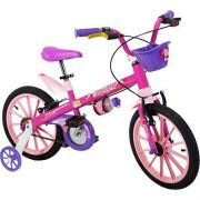 BICICLETA NATHOR A 16  TOP GIRLS PINK ROSA
