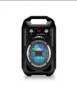 CAIXA DE SOM PORTATIL 4 BT/FM/SD/P2/USB 40W