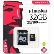 CARTAO MEMORIA KINGSTON 32GB