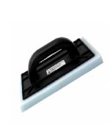 DESEMPENADEIRA PVC COM ESPUMA 17X30 GERPLAST  D