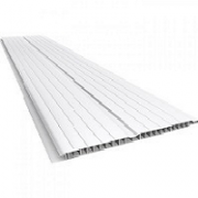 FORRO PVC 200 X 7MM BRANCO REAL PVC  -C.M-