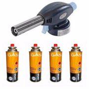 GAS REFIL 5 PONTAS EE P ISQUEIRO E MACARICO 227G