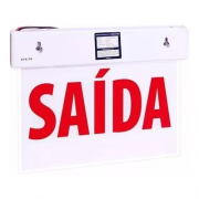 PLACA SINALIZ.LED SAIDA SIMPLES MP30 SC