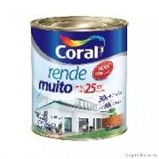 TINTA ACR RENDE MTO FO BRANCO 900ML CORAL