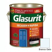 TINTA GLASURIT ESMALTE SINTÉTICO BRILHANTE BRANCO GELO 3,6L