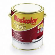 TINTA RESICOLOR ACRILICO FOSCO OURO BASE INTENSA 900ML