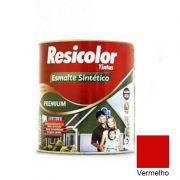 TINTA RESICOLOR ESMALTE SINTÉTICO VERMELHO 900ML