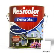 TINTA RESICOLOR OLEO BRILHANTE BRANCO 900ML