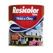 TINTA RESICOLOR OLEO BRILHANTE MARROM TABACO T4