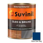 TINTA SUVINIL ÓLEO E BRILHO AZUL DEL REY 900ML