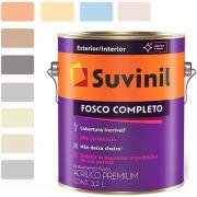 TINTA SUVINIL ACRÍLICO FOSCO COMPLETO  B A2 3,2L