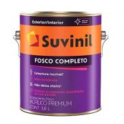 TINTA SUVINIL ACRÍLICO FOSCO COMPLETO B B2 800ML