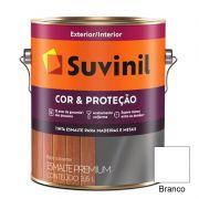 TINTA SUVINIL ESMALTE BRILHANTE COR E PROTEÇÃO BRANCO 3,6L