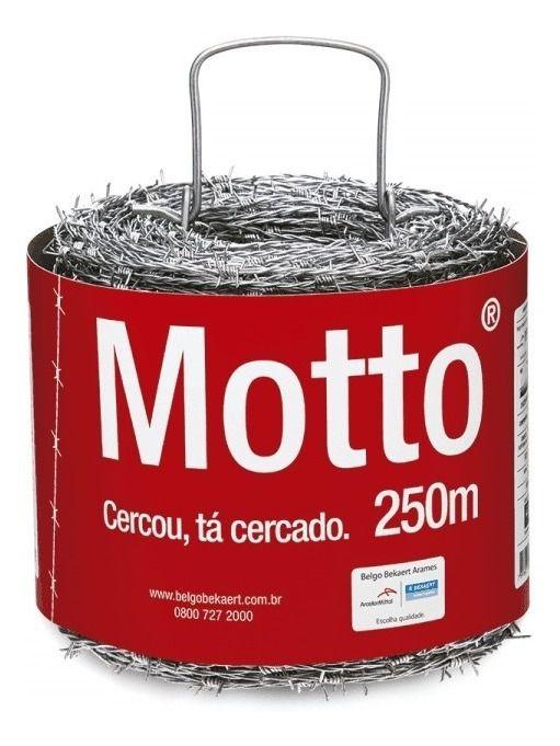 ARAME FARPADO MOTTO 250MT