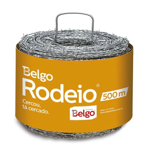 ARAME FARPADO RODEIO 500MT