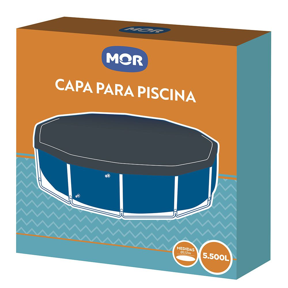 CAPA P/ CBR PISCINA 5.500 LTS MOR