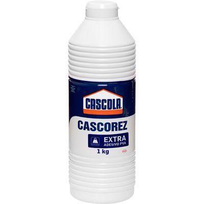 COLA BRANCA CASCOREZ EXTRA 1KG 1406741