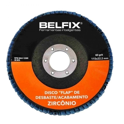 DISCO FLAP DESB/ ACAB -M GRAO 120 4.1/2 110MM BEL               -M