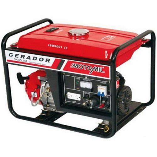 GERADOR GASOLINA MG 5000 CL P MANUAL MONOF 220V MOTOMIL