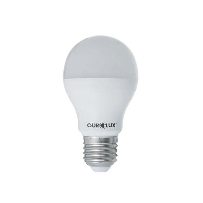 LAMPADA LED BULBO 9W BIV. 6500K OUROLUX**