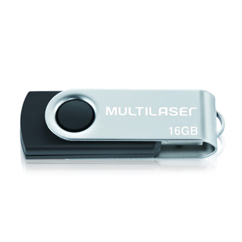PENDRIVE MULTILASER 16GB PD588