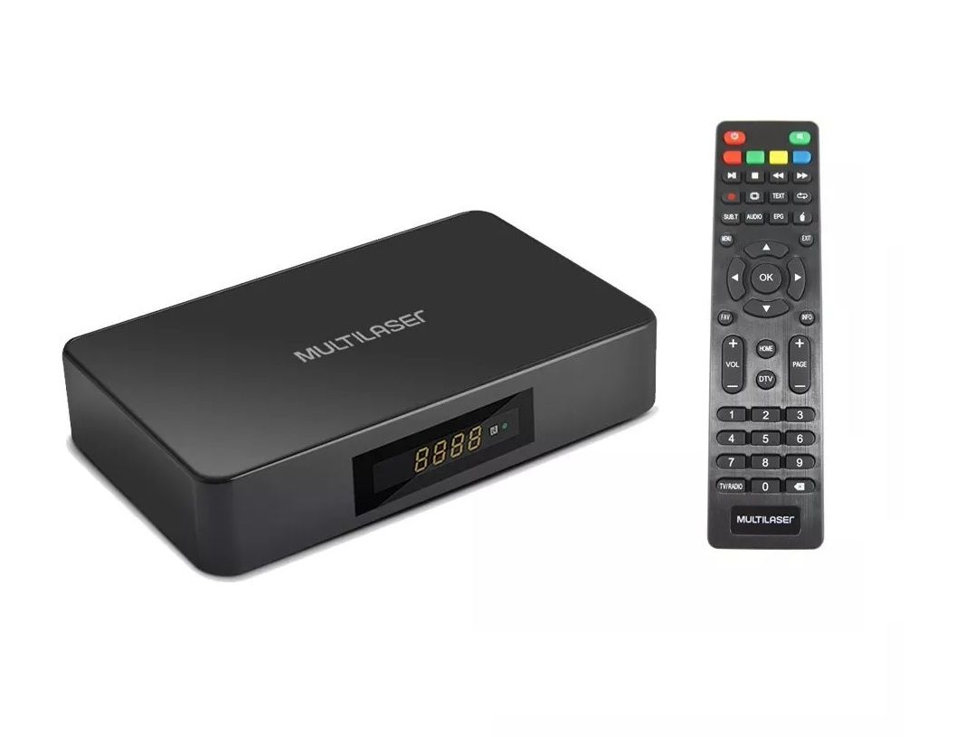 SMART TVBOX MULTILASER HIBRID.ANDROID+CONVERTER 1GBRAM+8GB**