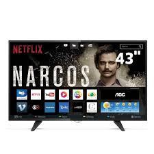 TELEVISOR 43 AOC SMART LED LE43S5970 FHD 3HDMI 2USB NETFLIX
