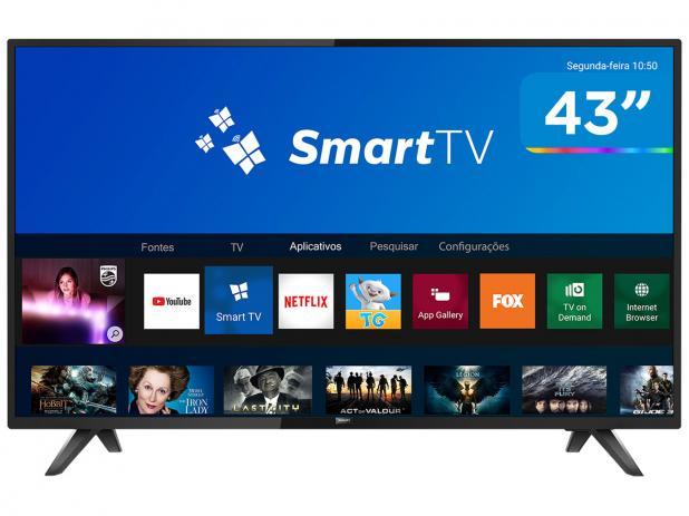TELEVISOR 43 LED FHD PHILIPS SMARTH NETFLIX PFG5813/78