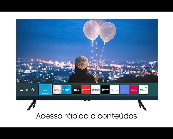 "TELEVISOR 50"" SAMSUNG SMART 4K CRYSTAL WIFI"
