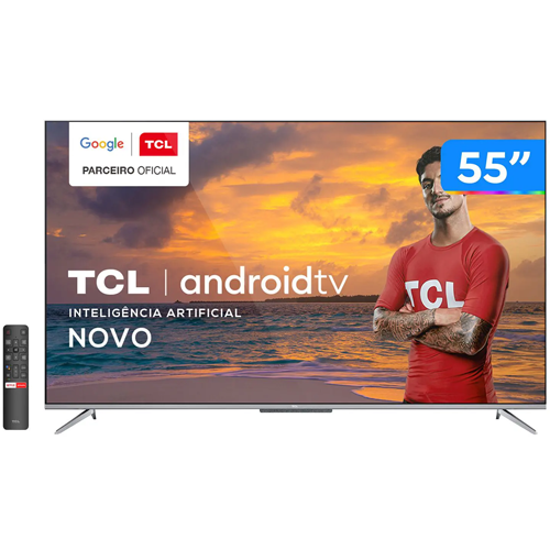 TELEVISOR LED UHD 55 TCL  55P715 AND/BT