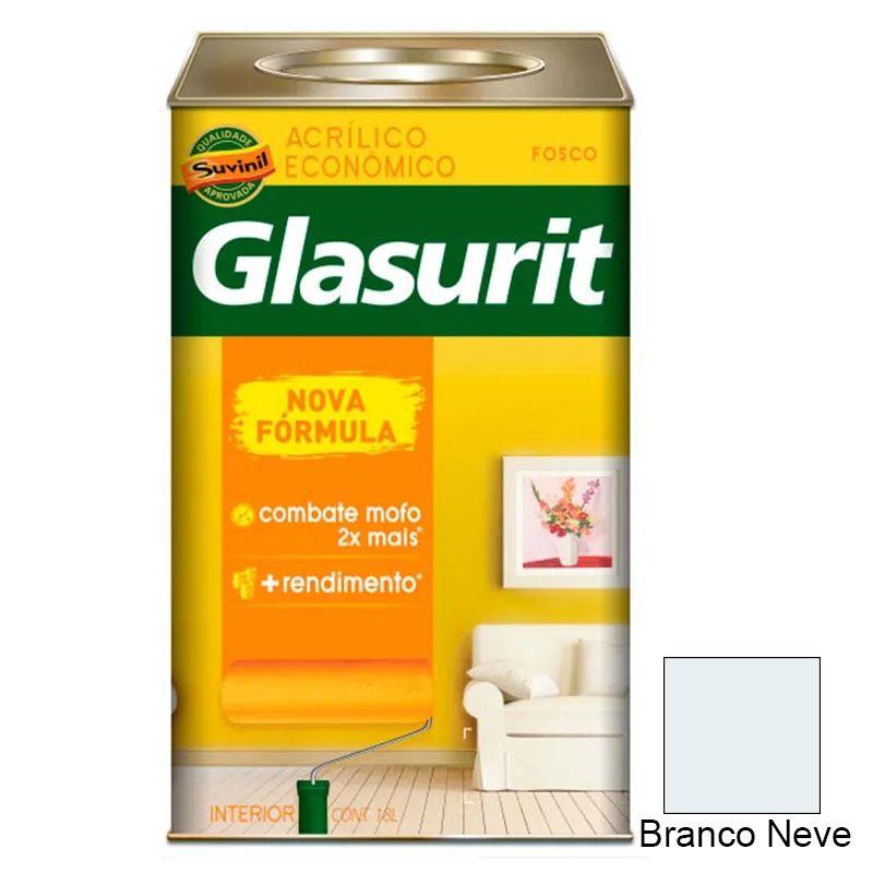 TINTA GLASURIT ACRILICO FOSCO BRANCO 18L