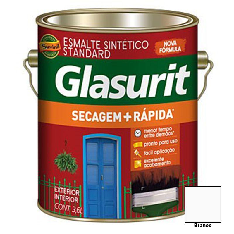 TINTA GLASURIT ESMALTE SINTÉTICO BRILHANTE BRANCO 3,6L