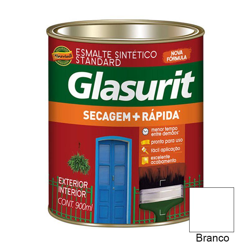 TINTA GLASURIT ESMALTE SINTÉTICO BRILHANTE BRANCO 900ML