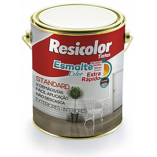 TINTA RESIC ESM COLOR VERDE MACA T4 900ML