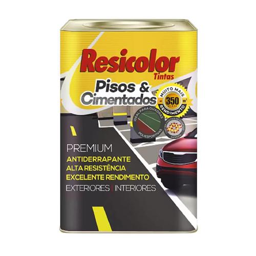 TINTA RESIC PISO VERMELHO OXIDO 0077 T50