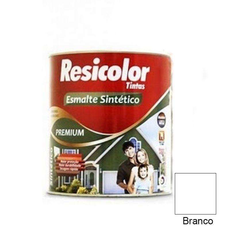 TINTA RESICOLOR ESMALTE SINTÉTICO BRANCO 900ML