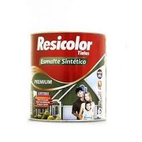 TINTA RESICOLOR ESMALTE SINTETICO MARROM T1