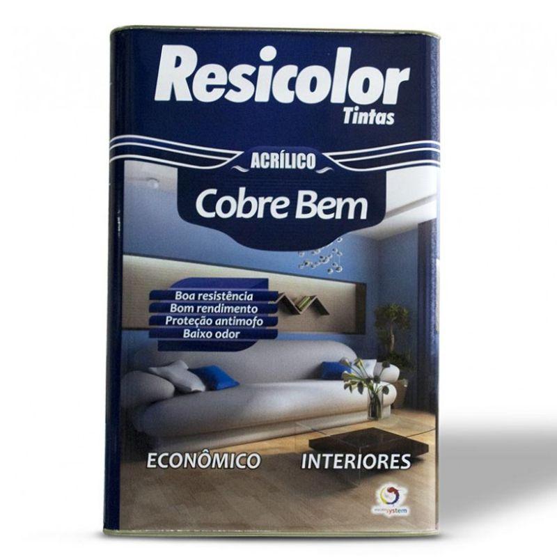 TINTA RESICOLOR LÁTEX ACRÍLICO PROFISSIONAL BR T50 9737