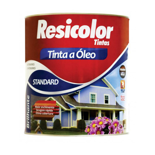 TINTA RESICOLOR OLEO BRILHANTE BRANCO GELO 5112 T4