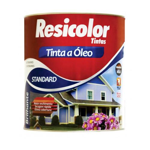 TINTA RESICOLOR OLEO BRILHANTE CINZA ESCURO 4060 T1