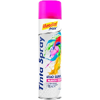 TINTA SPRAY 400ML LUMINOSA PINK MUNDIAL PRIME