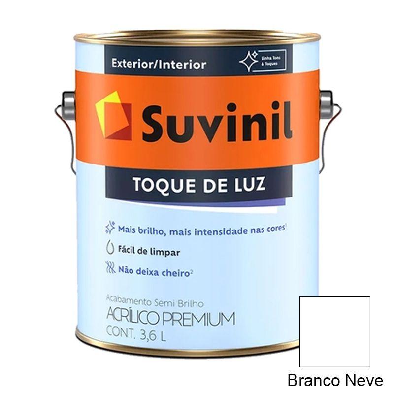 TINTA SUVINIL ACRILICO SEMIBRILHO BRANCO NEVE 3,6L