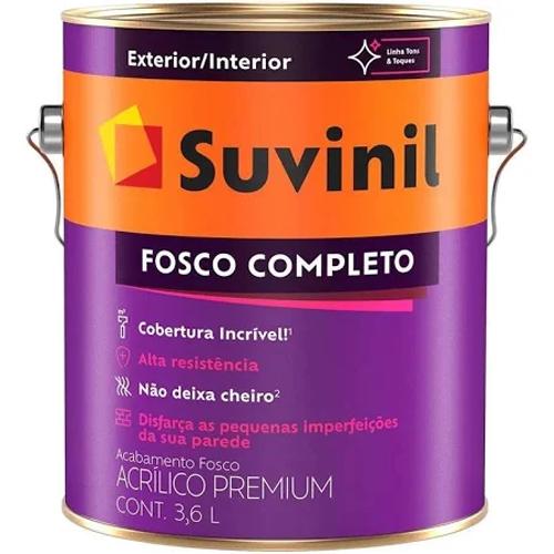 TINTA SUV FOSCO COMPLETO TOMATE SECO 3,6 IP31