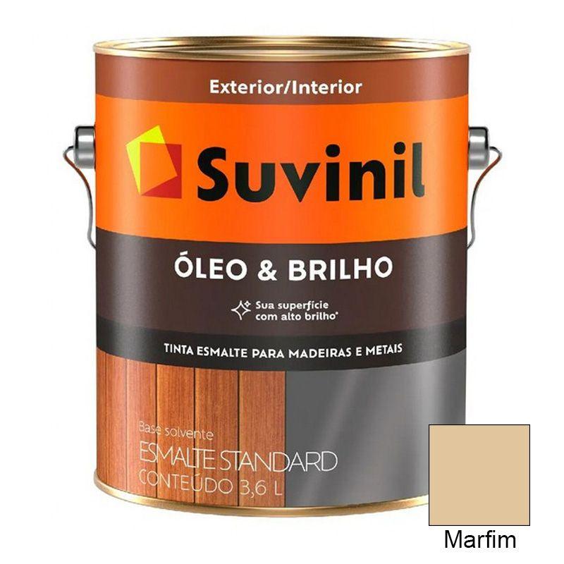 TINTA SUVINIL ÓLEO E BRILHO MARFIM 3,6L 7661